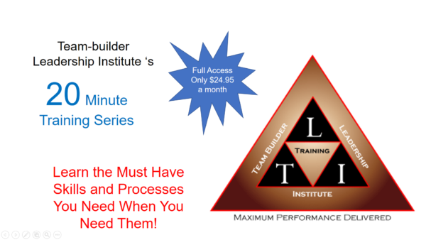 Leadership, management and professional skills training