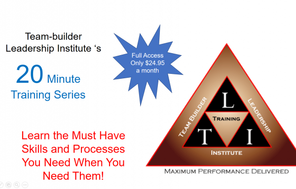 20 Minute Training Courses