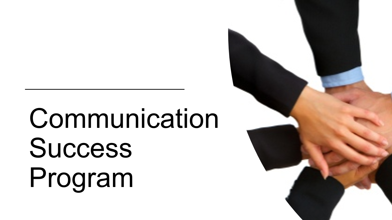 (CSP) - Communication Success Program