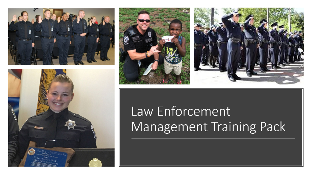 Law enforcement management online training