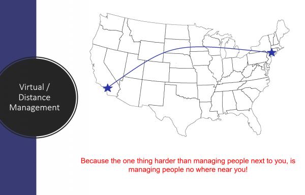 Virtual / Distance Management