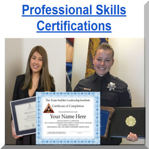 Leadership and professional skills training