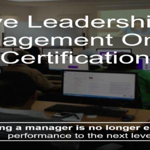 live onlive leadership and management certification training